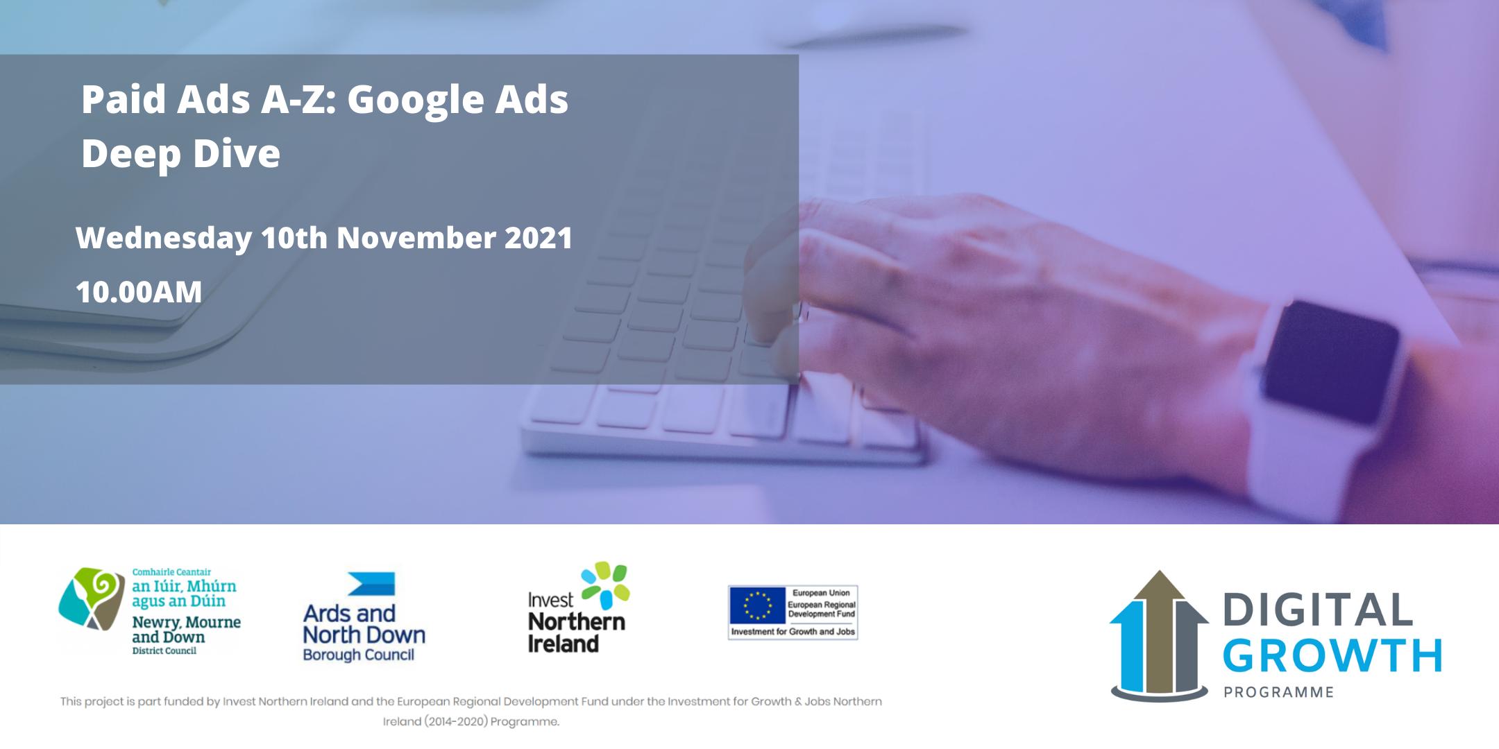 Paid Ads A-Z: Google Ads Deep Dive